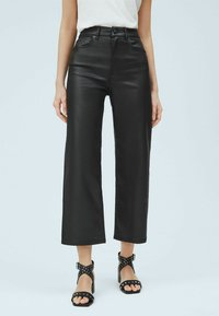 Pepe Jeans - Leather trousers - denim - 0