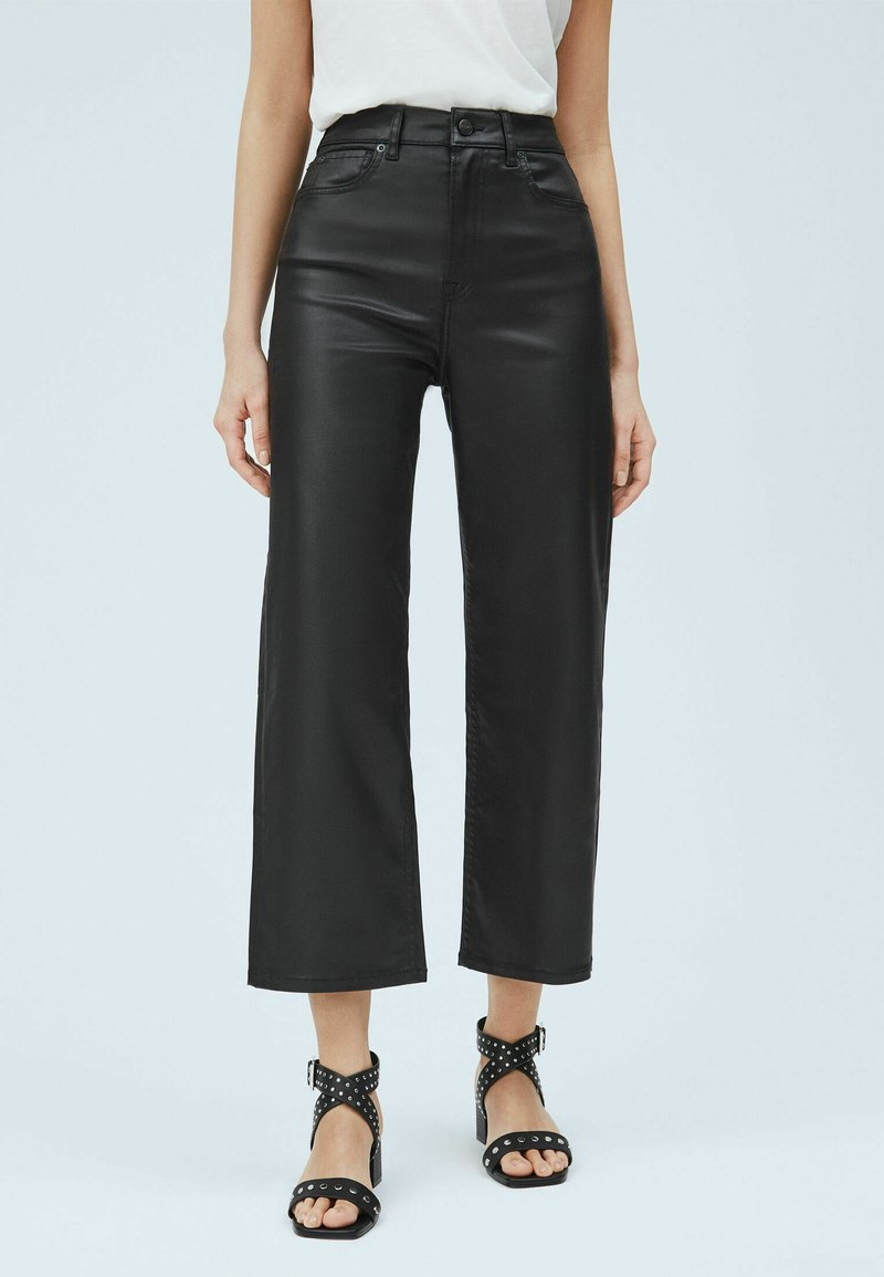 Pepe Jeans - Leather trousers - denim