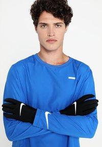 Nike Performance - LIGHTWEIGHT TECH GLOVES - Gloves - black/black/silver - 0