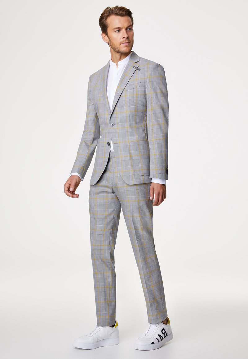 Baldessarini - Suit - grau/gelb