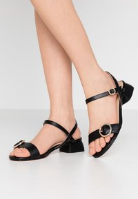 Office Wide Fit - MARYLOU - Sandals - black - 0