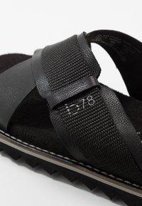 Bugatti - LIMON - Mules - black - 5