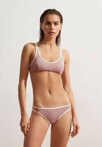 CONTRAST - Bikini top - purple