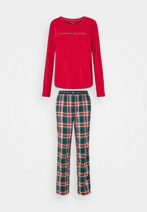 ORIGINAL PANT HOLIDAY SET - Pyjama set - primary red/cypress green