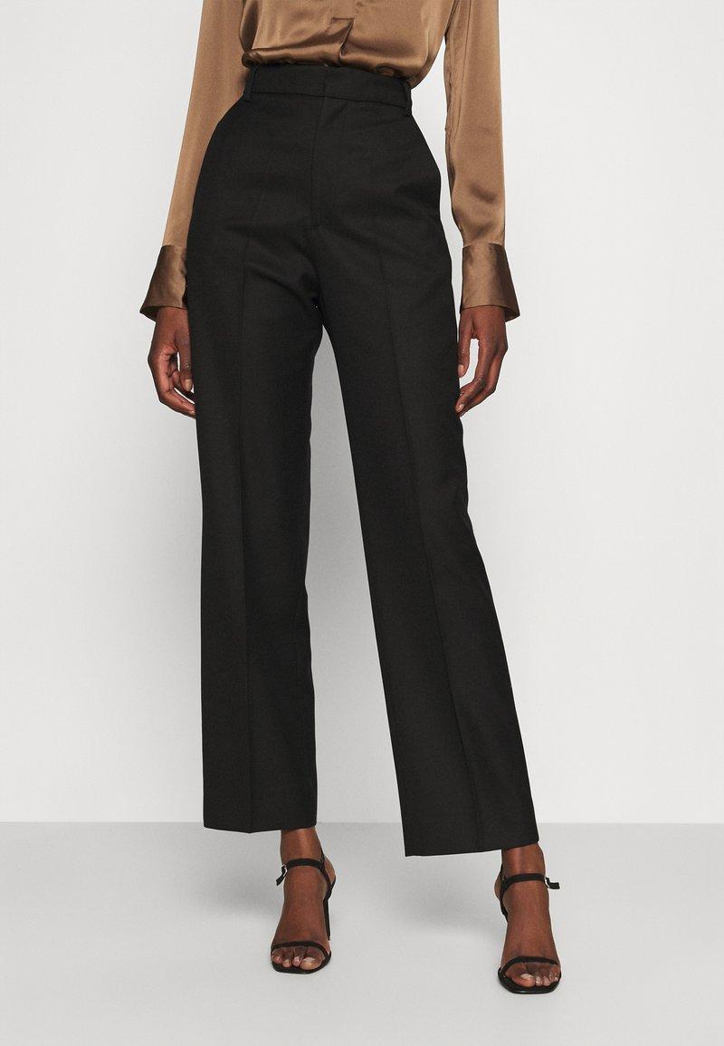Hope - KEEN TROUSERS - Spodnie materiałowe - black