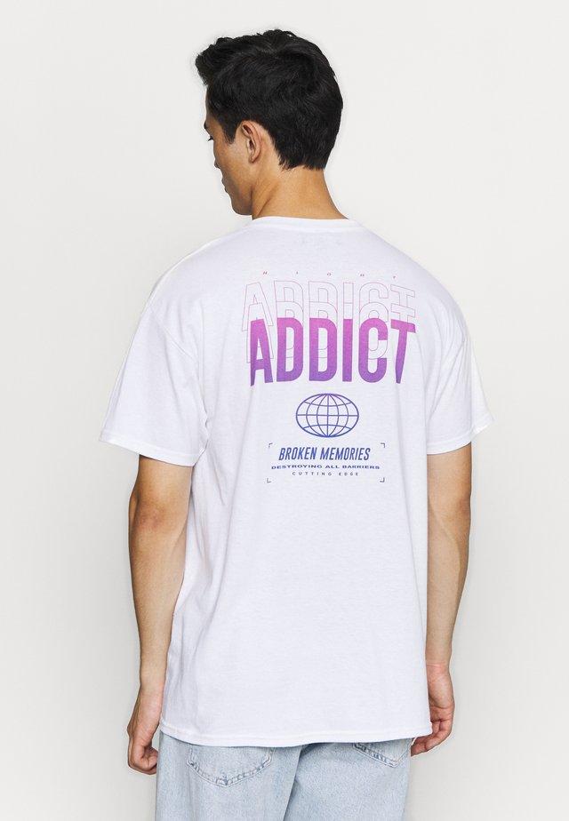 BROKEN - T-shirt basic - white