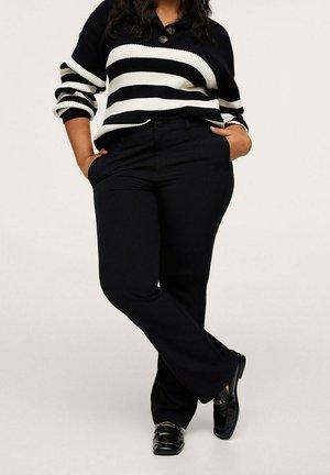 LIZZY - Trousers - schwarz