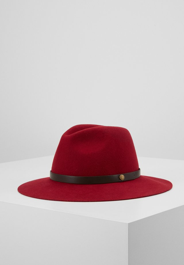ANNADALE FEDORA - Hat - rose red