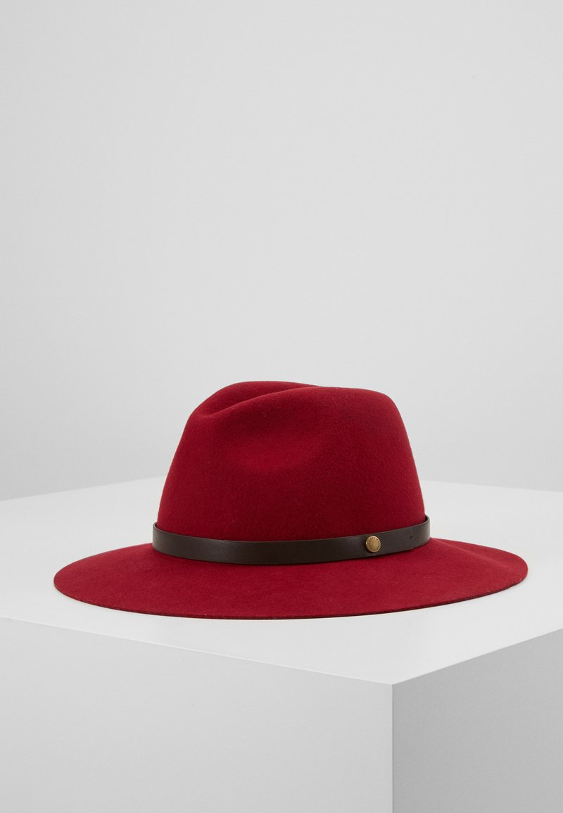 Barbour - ANNADALE FEDORA - Kapelusz - rose red