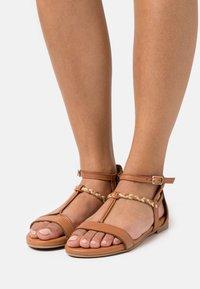 Tamaris - Sandals - nut - 0