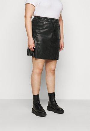CARSIMA  - Áčková sukně - black