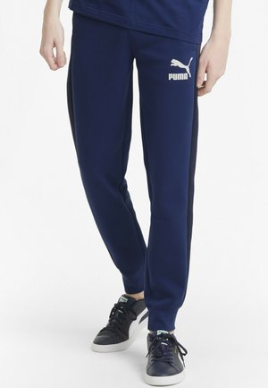 ICONIC  - Tracksuit bottoms - elektro blue