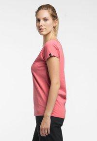 Haglöfs - FUNKTIONSSHIRT CAMP TEE - Basic T-shirt - rusty pink - 2