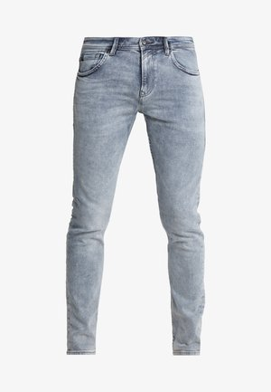 SLIM PIERS - Slim fit jeans - bleached grey denim