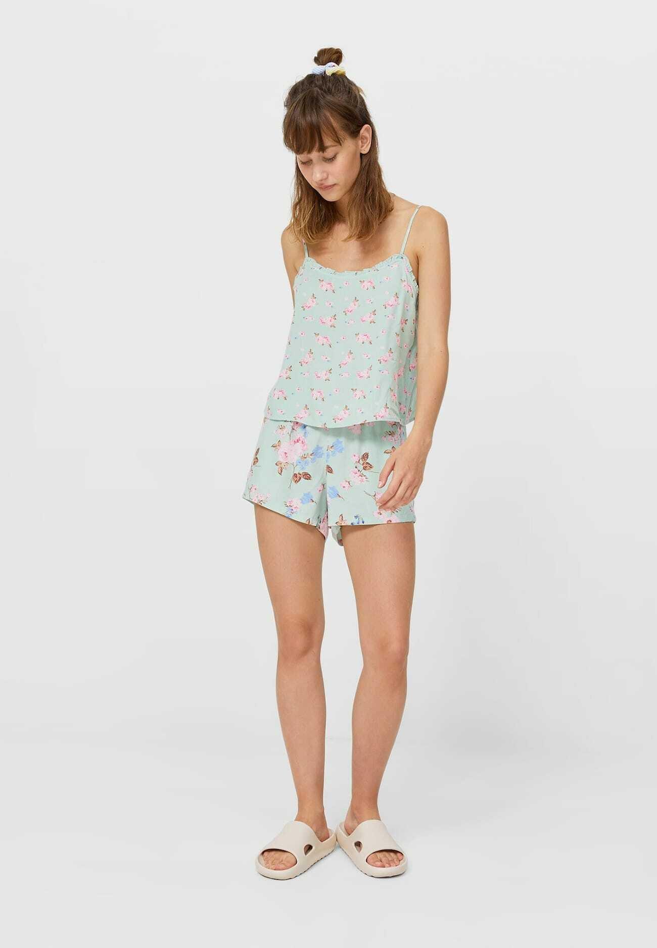 Damer MIT BLUMENPRINT - Nattøj trøjer