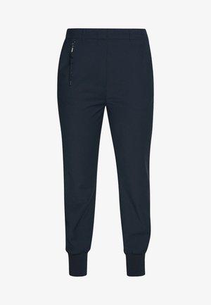 HYBRID TAILORED PANTS - Kalhoty - steel blue