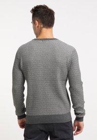 TUFFSKULL - Stickad tröja - dunkelgrau - 2