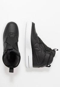 Nike Sportswear - AIR FORCE 1 BG - Sneakers high - black/white - 0