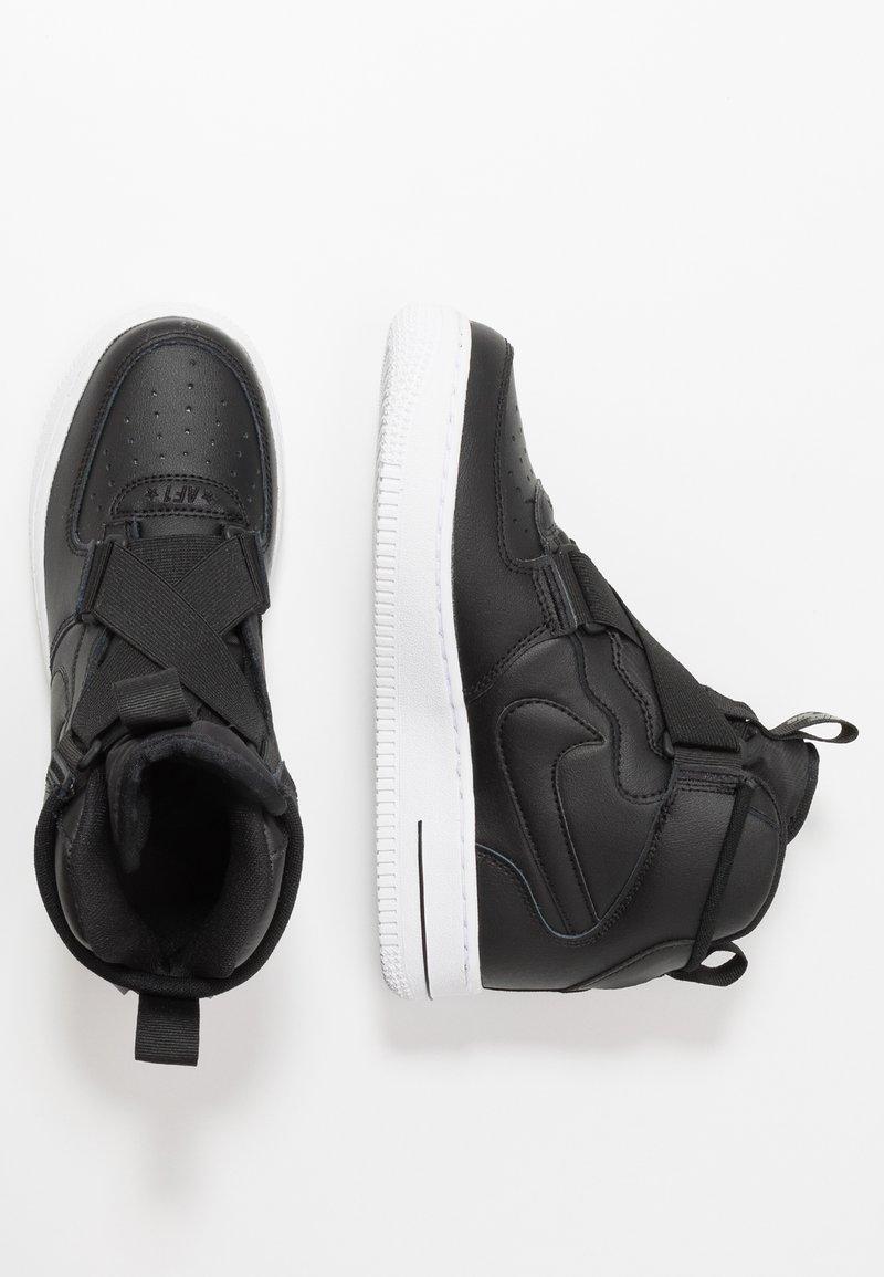 Nike Sportswear - AIR FORCE 1 BG - Sneakers high - black/white