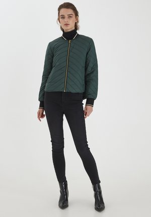 BYBERTA  - Bomber Jacket - jungle green
