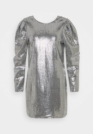 AUGUSTA SEQUINS DRESS - Cocktailkjoler / festkjoler - silver