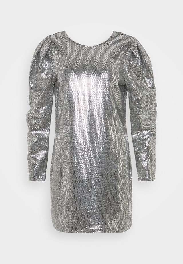 AUGUSTA SEQUINS DRESS EXCLUSIVE - Cocktailkjoler / festkjoler - silver
