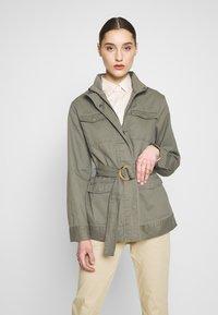 Saint Tropez - THEA JACKET - Summer jacket - army green - 0