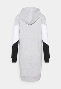 ONLY - ONLPEAR LONG BLOCKING - Day dress - light grey melange/white black - 1