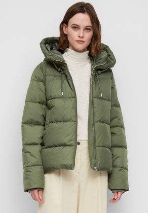 Winterjas - green