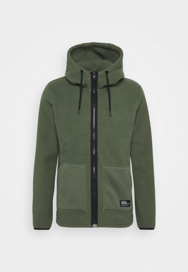 ELMER  - Fleece jacket - thyme