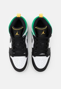 Jordan - 1 MID SE  - Basketbalové boty - white/laser orange/black/lucky green - 3