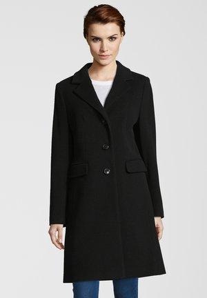 ALICE - Classic coat - black