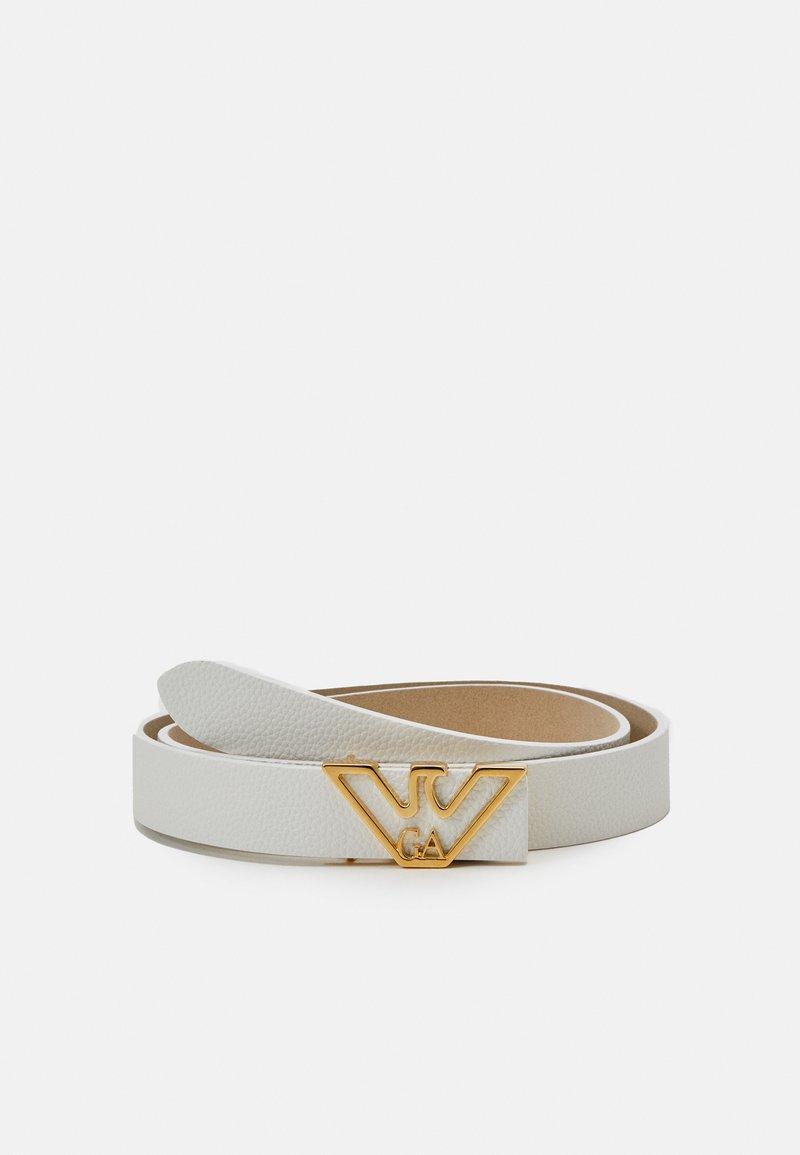 Emporio Armani - CINTURECINTURA FIANCO - Belt - bianco white