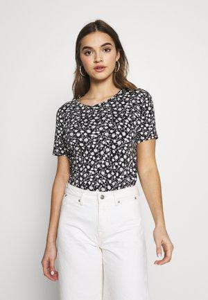BYRILLO - Print T-shirt - off white