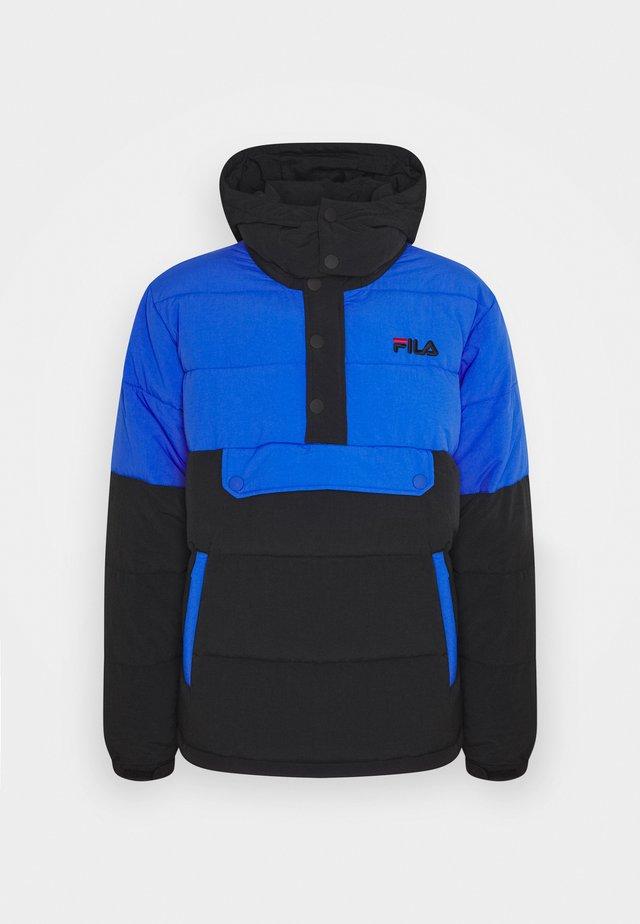 BATUL BLOCKED PUFFER  - Veste d'hiver - black dazzling blue