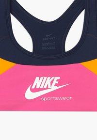 Nike Sportswear - VENEER - Bustier - obsidian/pinksicle/university gold/white - 2