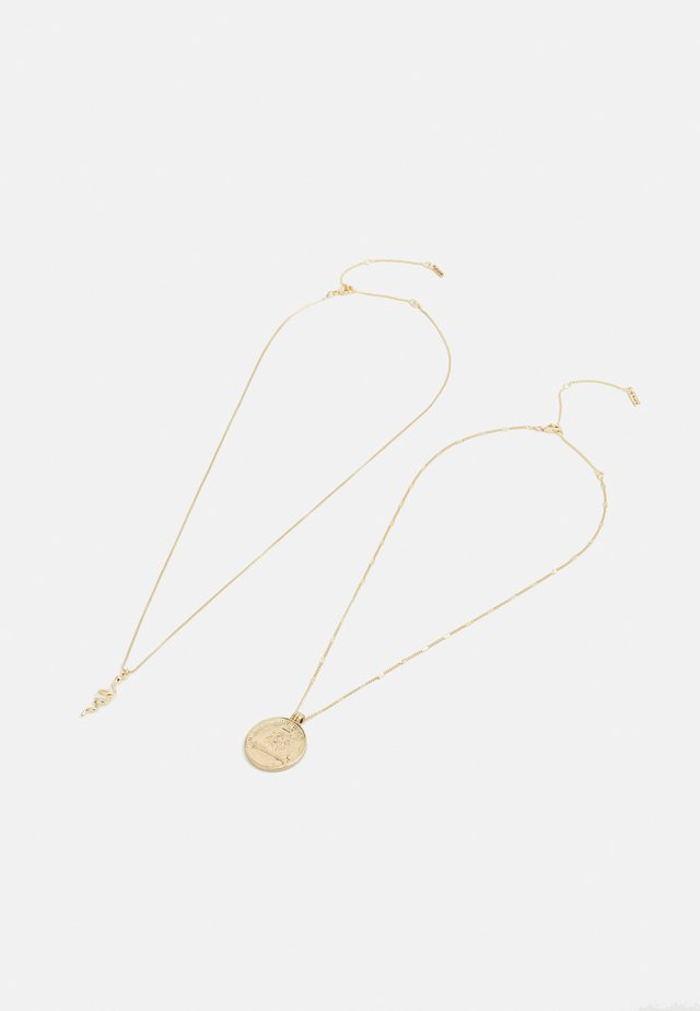 NECKLACE SENSITIVITY 2 PACK - Ketting - gold-coloured