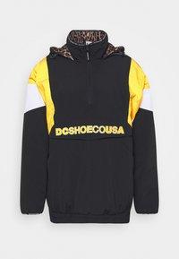 DC Shoes - TRANSITION REVERSIBLE ANORAK - Snowboard jacket - black - 4