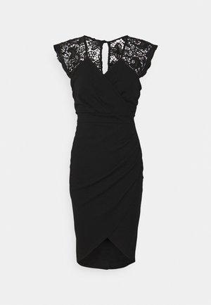 SIENNA MIDI DRESS - Koktejlové šaty/ šaty na párty - black