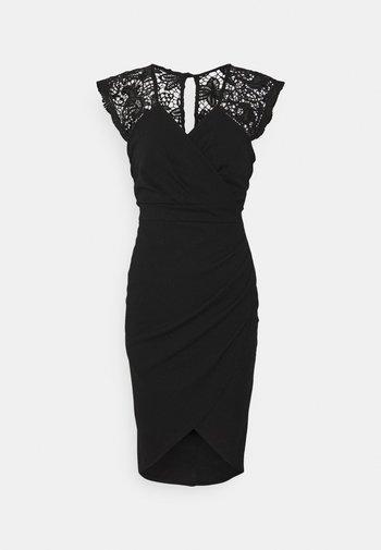 SIENNA MIDI DRESS - Vestito elegante - black