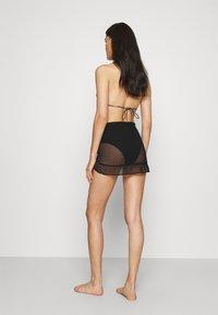 Marks & Spencer London - MINI FRILL SARONG - Beach accessory - black - 2