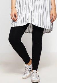 Zizzi - Leggings - Trousers - black - 0