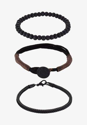 TAKE COVER COMBO - Bracelet - black