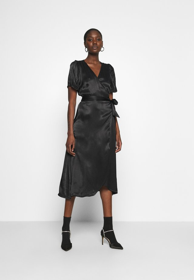JULISSA WRAP DRESS - Robe de soirée - black