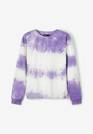 Sweatshirt - aster purple