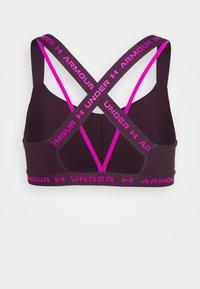 Under Armour - CROSSBACK LOW SHINE - Light support sports bra - polaris purple - 6