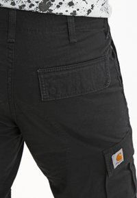 Carhartt WIP - REGULAR COLUMBIA - Cargobroek - black rinsed - 5