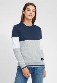 Oxmo - OMAYA - Sweatshirt - insignia blue - 0