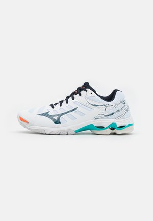 WAVE VOLTAGE - Volejbalové boty - white/legion blue/ceramic