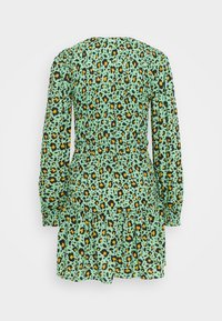 JDY - JDYDREW LIFE SHORT DRESS - Day dress - absinthe green/brown/black - 1